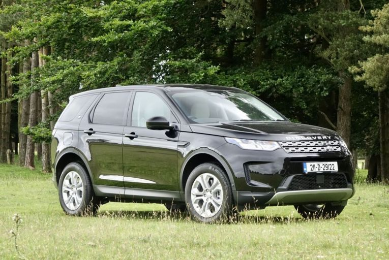 On the marque: Polished hybrid Discovery Sport offers a lot more for a little extra