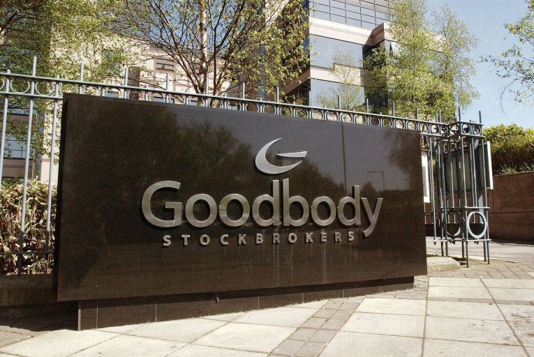 Goodbody staff bonuses will be unaffected by the 89 per cent tax on bonuses that has applied at AIB, Bank of Ireland and Permanent TSB since the financial crash