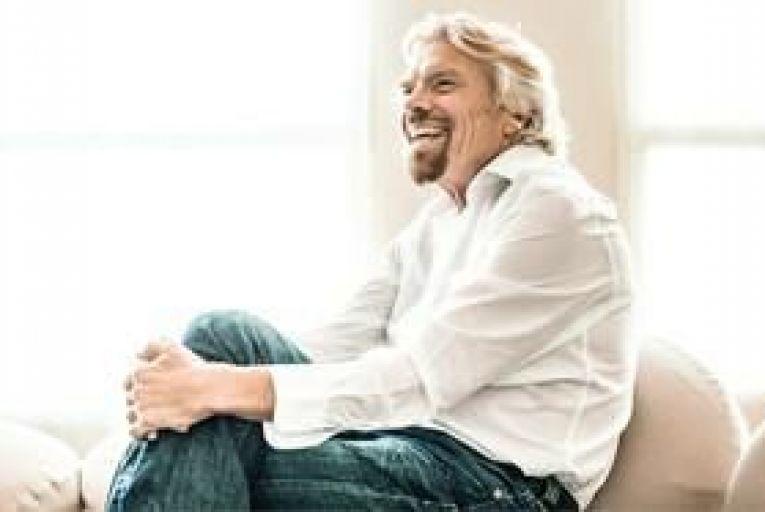 Richard Branson. Picture: Johannes Arlt/laif