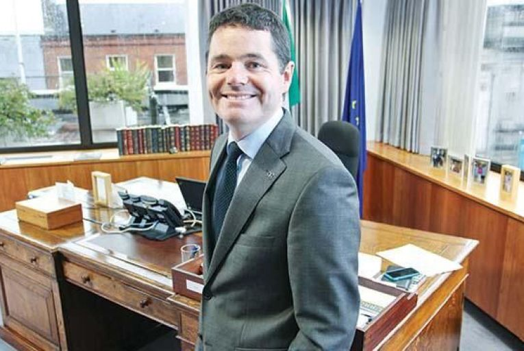 Paschal Donohoe, Minister for Transport.