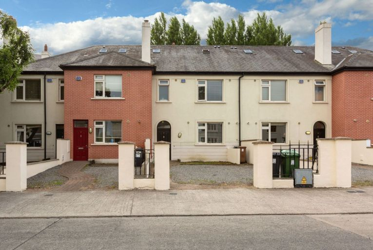 Numbers 1, 2, 3 and 4, Mourne Lodge in Drimnagh, Dublin 12: the houses are for sale as one lot with a guide price of €2.1 million