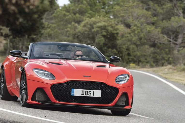 Aston's new supercar-flavoured convertible