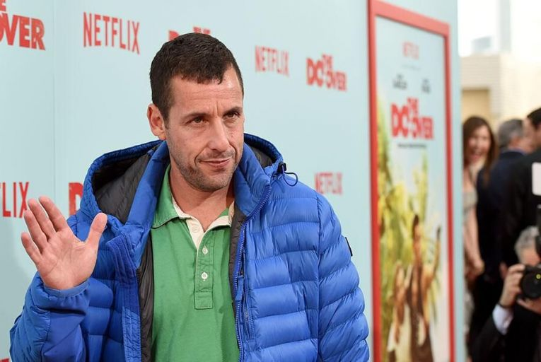 Adam Sandler's movies are popular on Netflix because tens of millions of us are watching them all the way through Pic: Getty