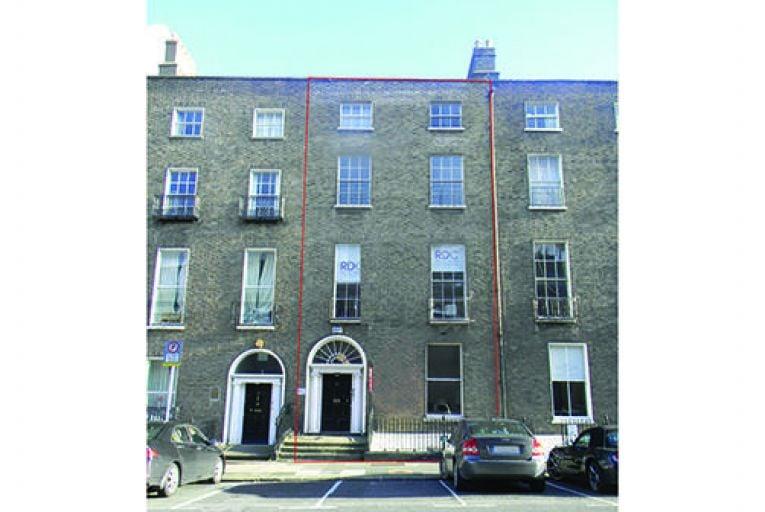 Georgian office building in heart of Dublin 2 for €1.55m
