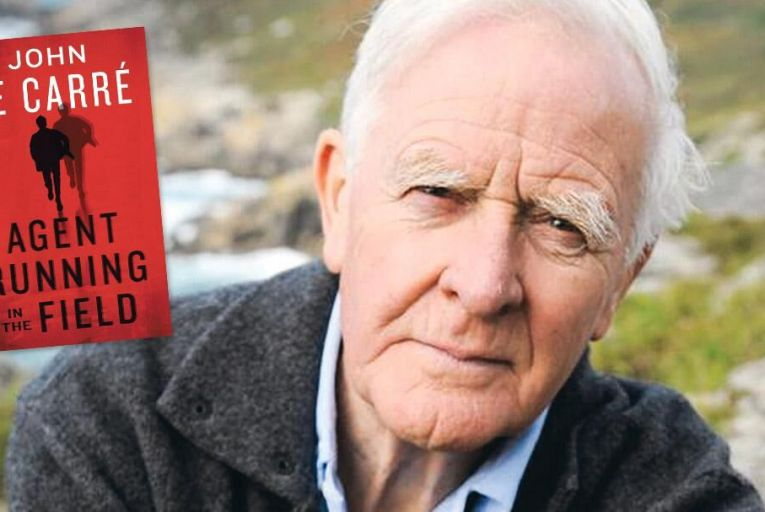 John Le Carré still has his finger on the geopolitical pulse PIc: Camerapress