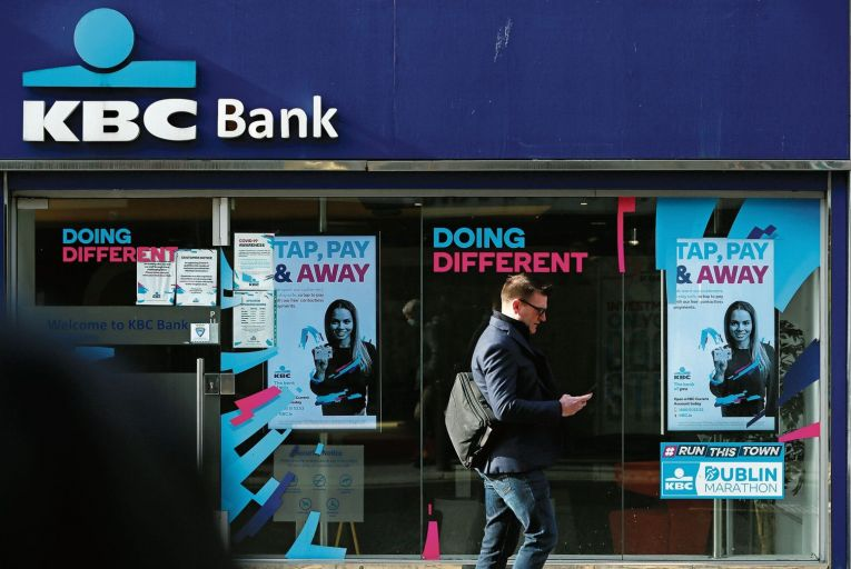 KBC Bank Ireland looks set to leave the Irish market after announcing talks with Bank of Ireland. Picture: PA