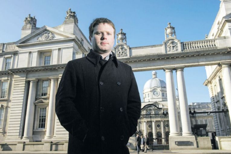 Gavin Sheridan: the transparency campaigner fought a major court battle over an FOI request (Pic: Maura Hickey)