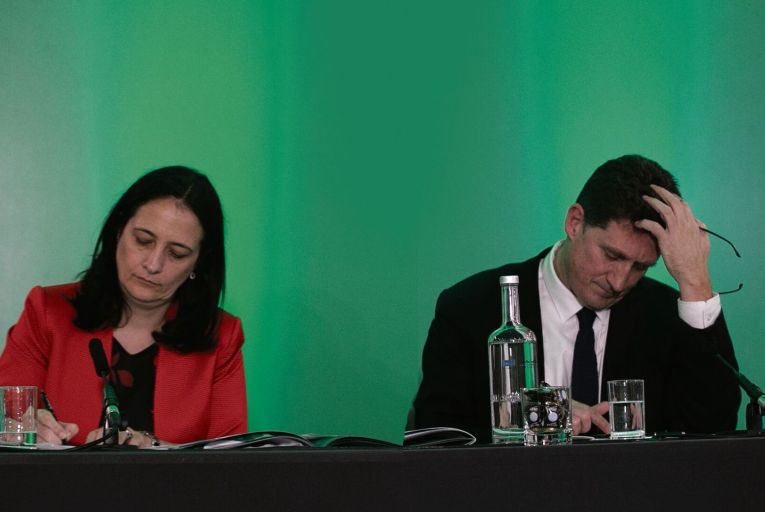 Catherine Martin, Green Party deputy leader, and Eamon Ryan, leader: their move to ratify CETA has drawn the ire of some other party members. Photo: Sam Boal/Rollingnews.ie