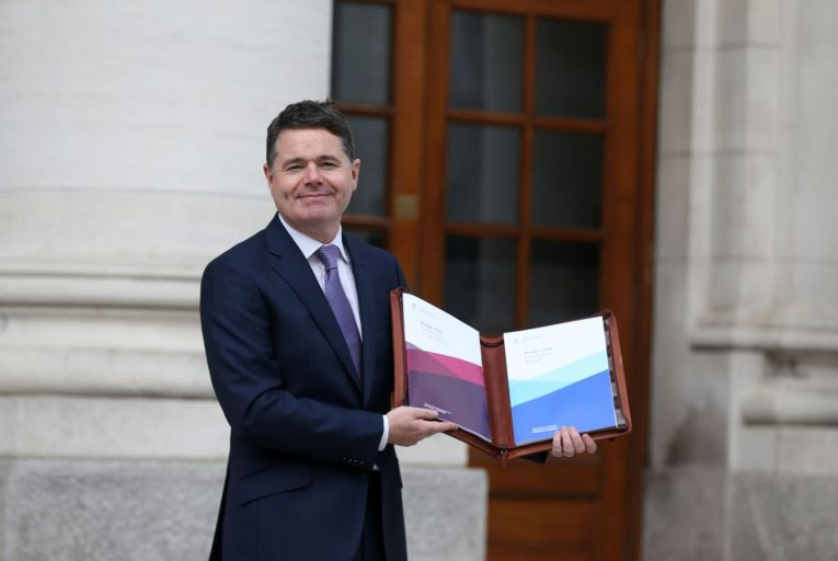 Paschal Donohoe, the Minister for Finance: the government is planning a budget that has spending rises capped at 5 per cent per year in line with the growth of the economy. Picture: RollingNews