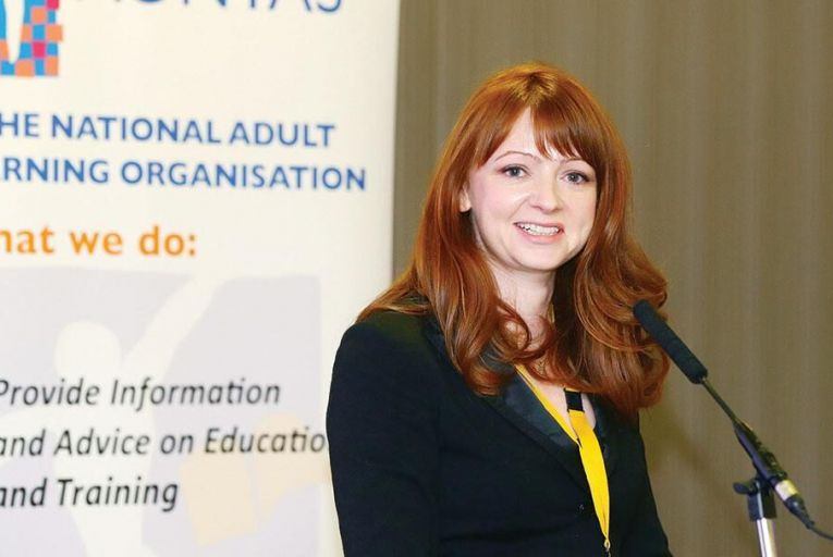 Niamh O'Reilly, chief executive of AONTAS