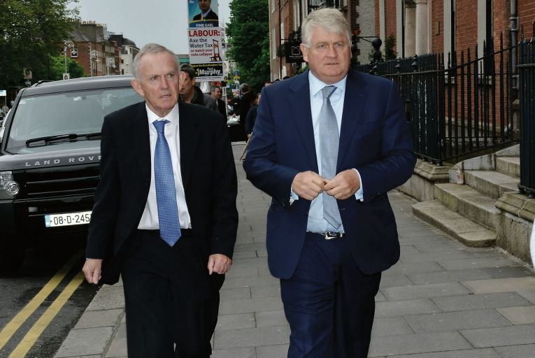 Leslie Buckley and Denis O'Brien: charity was supported by O'Brien Pic: Newscom