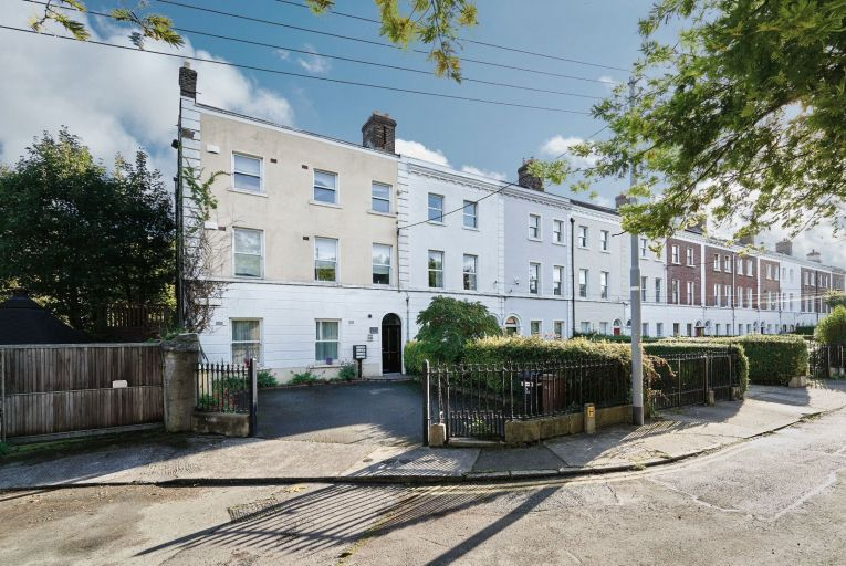 An end-of-terrace apartment building on Prince of Wales Terrace, Ballsbridge, Dublin 4, sold for €1,449,000