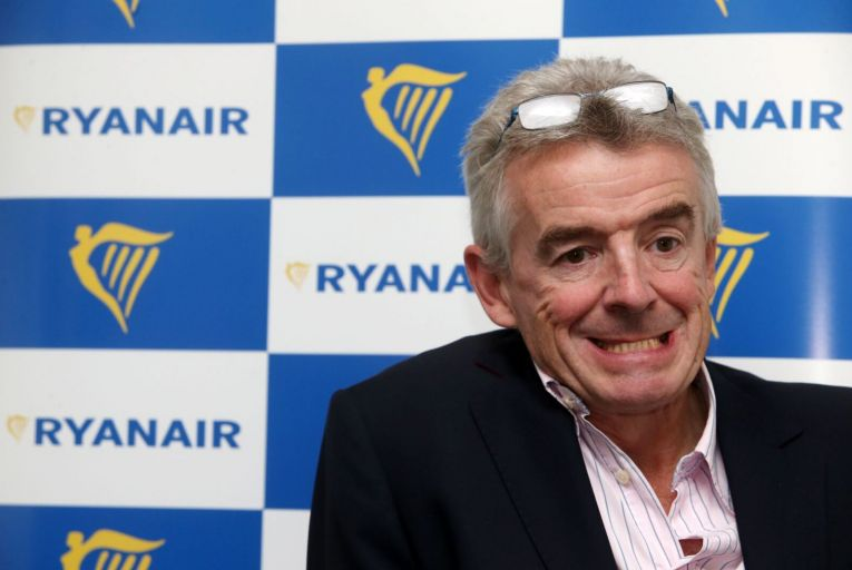 Michael O'Leary, chief executive of Ryanair, said the diversion of one of his company's planes was a 'state-sponsored hijacking'. Picture: Rollingnews.ie