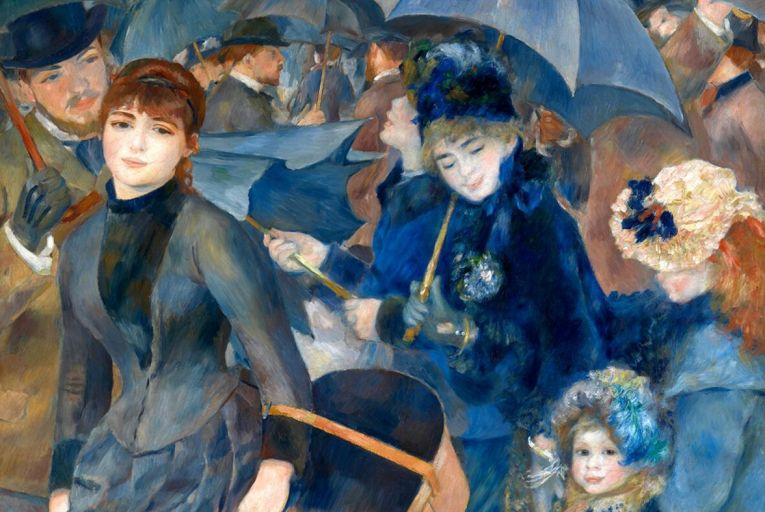 Renoir's The Umbrellas is one of the works to be returned to the Hugh Lane Gallery