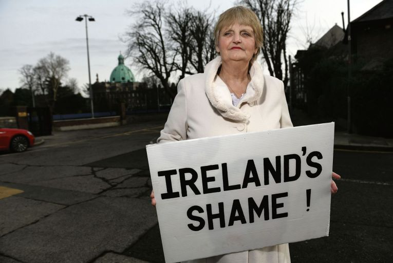 Sheila O'Byrne was 19 when she was sent to St Patrick's Mother and Baby Home on Dublin's Navan Road Pic: Bryan Meade