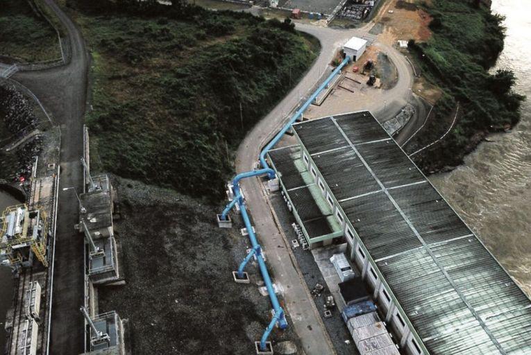 A new pipeline feeding the capital of Liberia