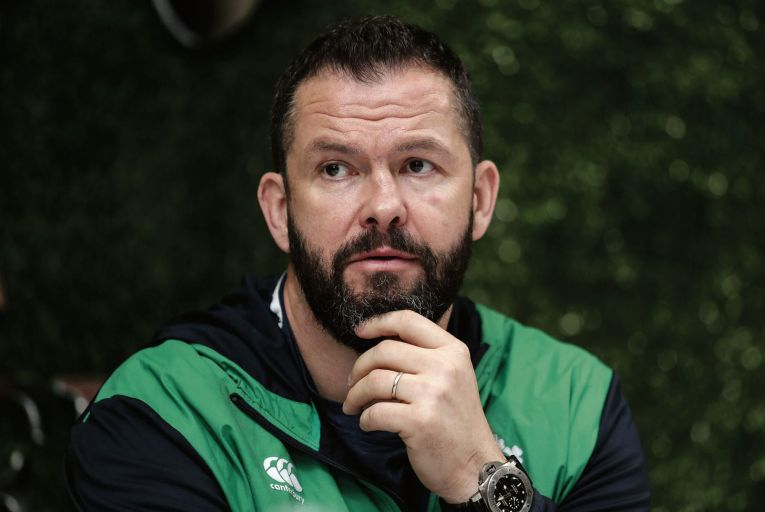 Time for Andy Farrell's Ireland to emerge from Schmidt era