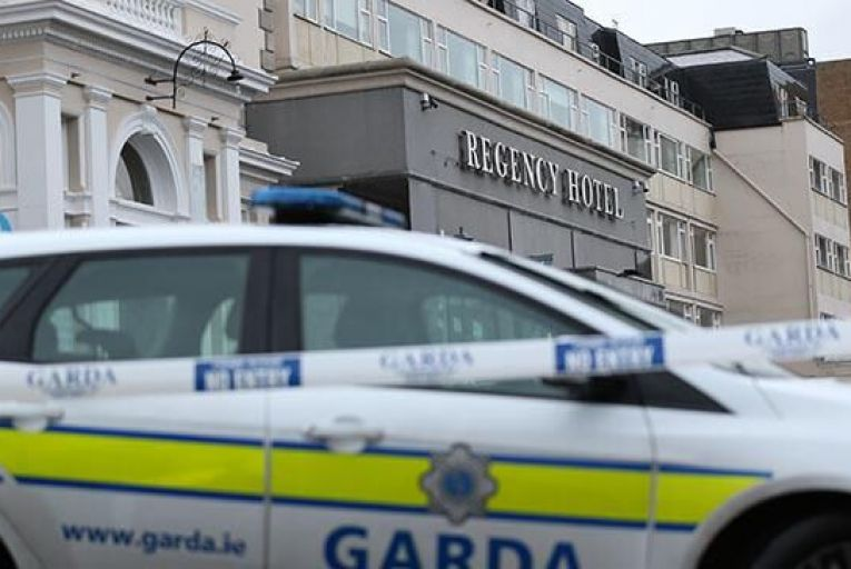 Dublin\'s Regency Hotel where the shooting took place on Friday Picture: Rollingnews