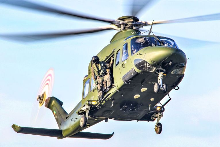 The Irish Air Corps used to provide the marine search-and-rescue service but it withdrew from it completely in 2004, when the service was fully outsourced to the private sector