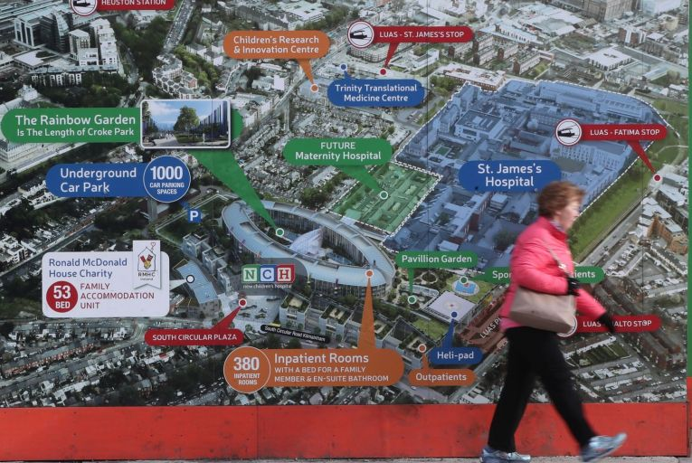 BAM is understood to have lodged six claims in the region of €40 million with the children hospital's board