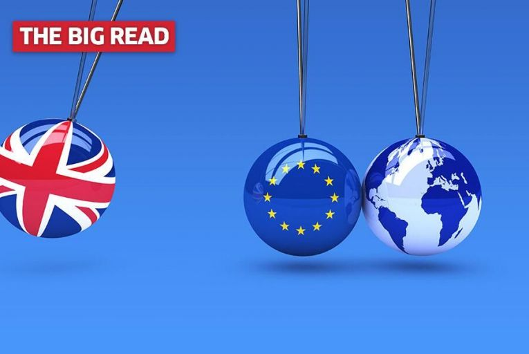 Brexit: Battling Britain, sterling silver lining and light bulbs