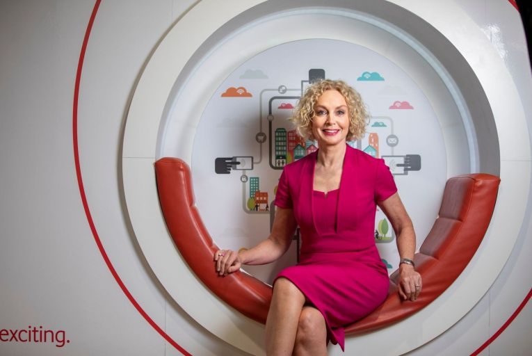 Anne O'Leary of Vodafone Ireland: 'The talent is already there'. Picture: Fergal Phillips