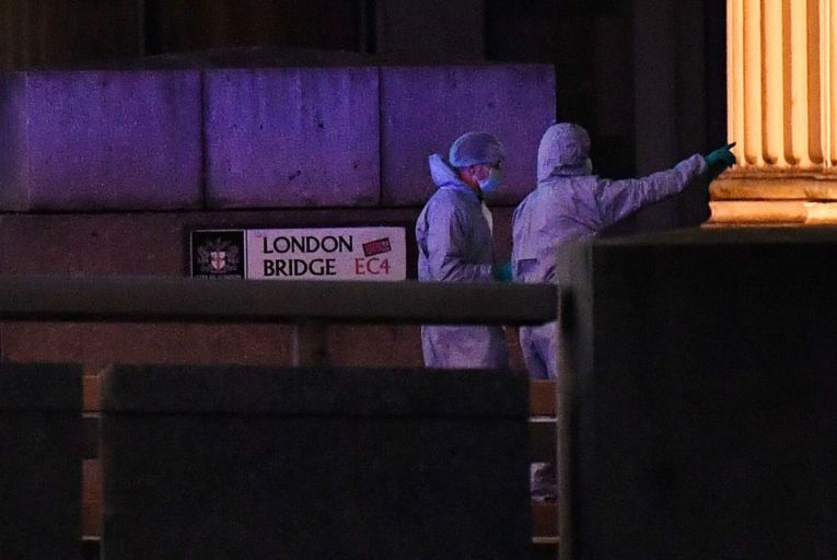 Police search London terror attack suspect's home