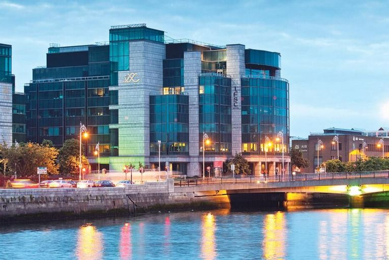 The IFSC in Dublin: multinationals,  banks and legal firms are  increasingly using Ireland as their European headquarters