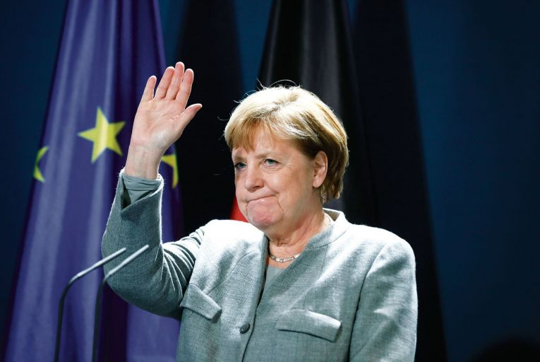 Angela Merkel is entering her final months as Germany's Chancellor. She wants her legacy to be 'I Tried'. Picture: Getty