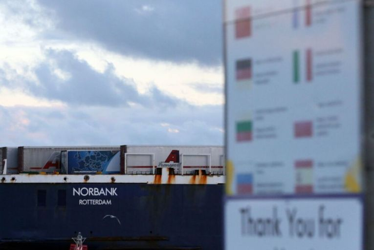 Exports are expected to grow by 13.3 per cent this year in spite of trade disruptions due to Brexit. Picture: RollingNews.ie