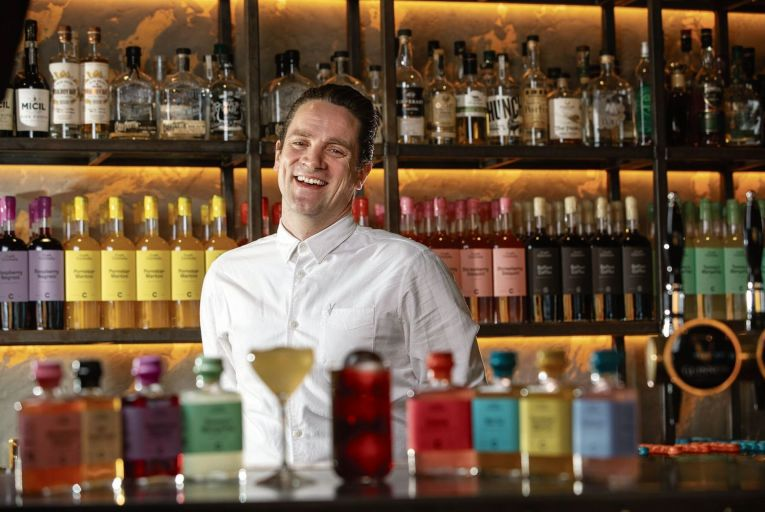 Dave Mulligan says customers will have a chance to make their own cocktails  Pic: Fergal Phillips