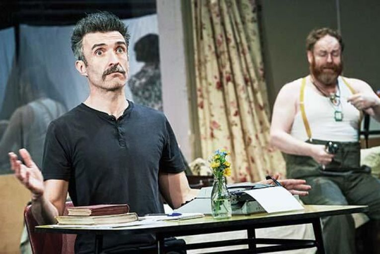 Mark O'Halloran and David Ganly in Shadow of a gunman