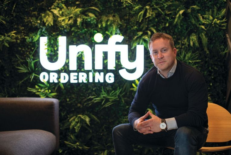 Barry McNerney, chief executive of UnifyOrdering: 'I'm not really into social media'