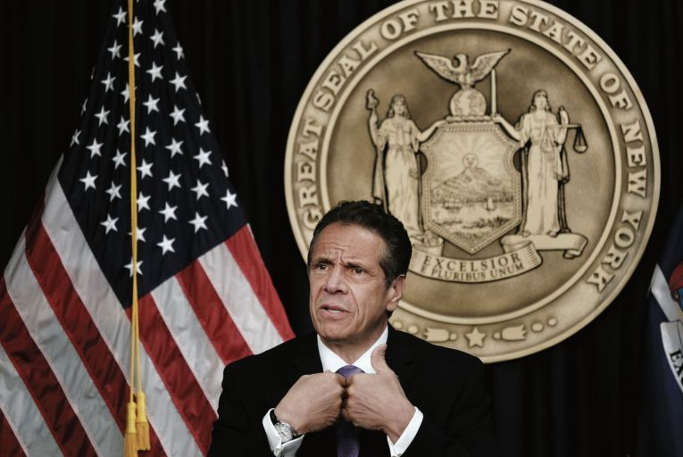 New York governor Andrew Cuomo: A 165-page report by Letitia James, the New York attorney general, has concluded that he is a serial sexual harasser of women and a bully who fostered a climate of fear and intimidation. Picture: Getty