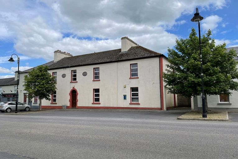 The former Garda station in Hollymount village, Co Mayo, is one of a number of lots being sold by the OPW