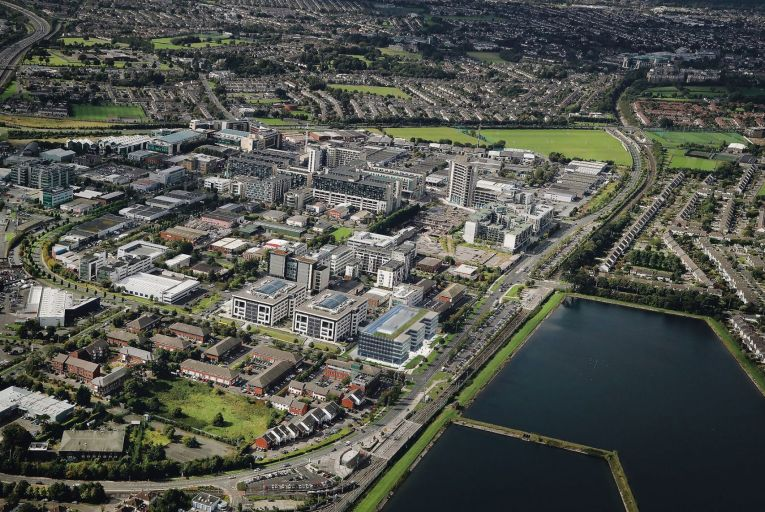 The five residential developments in the pipeline for Sandyford include apartment blocks of more than ten storeys, and two have as many as 17 storeys