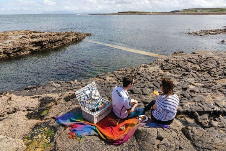 Takeaway picnic option from Pudding Row, Co Sligo