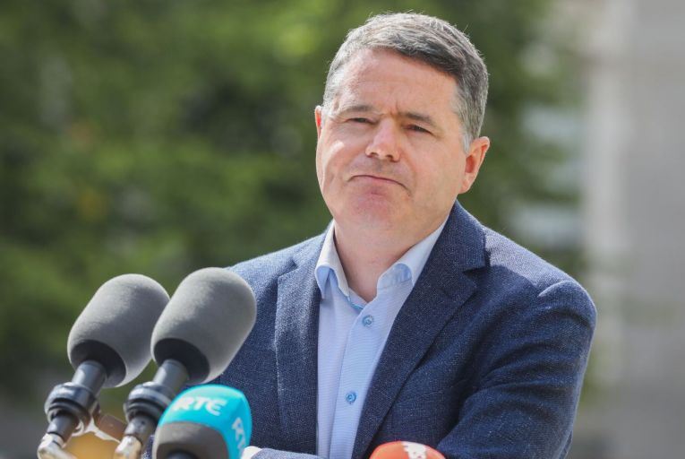 Donohoe confirmed that he had received the revised text and planned to bring the update to government colleagues before the end of the week. Picture: Rollingnews.ie