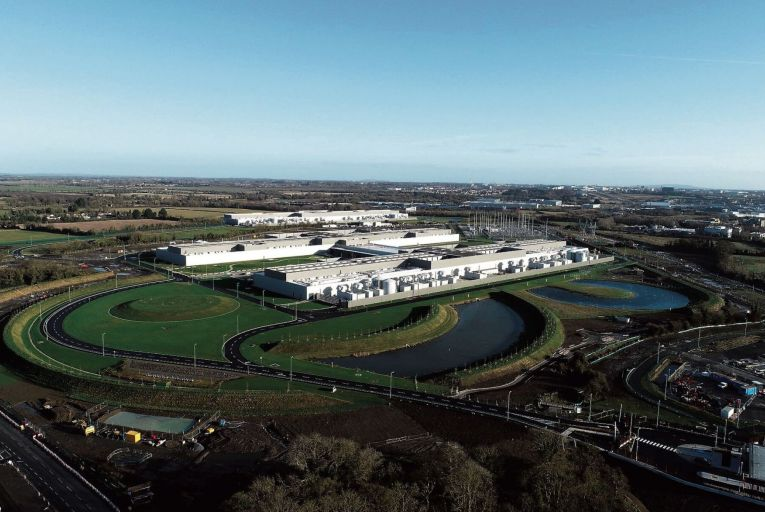 Facebook's data centre in Clonee, Co Meath