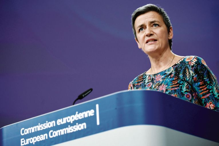 Margrethe Vestager, the European Commission's Executive Vice-President, said her team had concerns over Insurance Ireland's approach to granting or denying access to the database. Picture: AFP/Getty Images