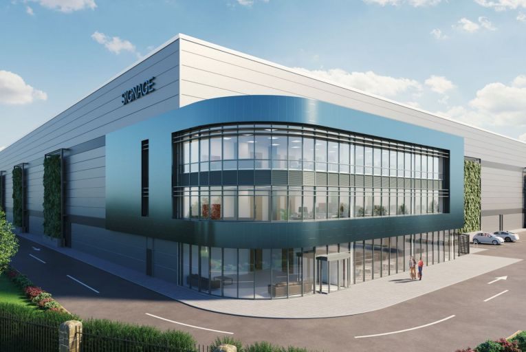 Iput Real Estate Dublin is targeting LEED Gold for its new 11,150 square metre warehouse in Aerodrome Business Park, due for completion in July 2021