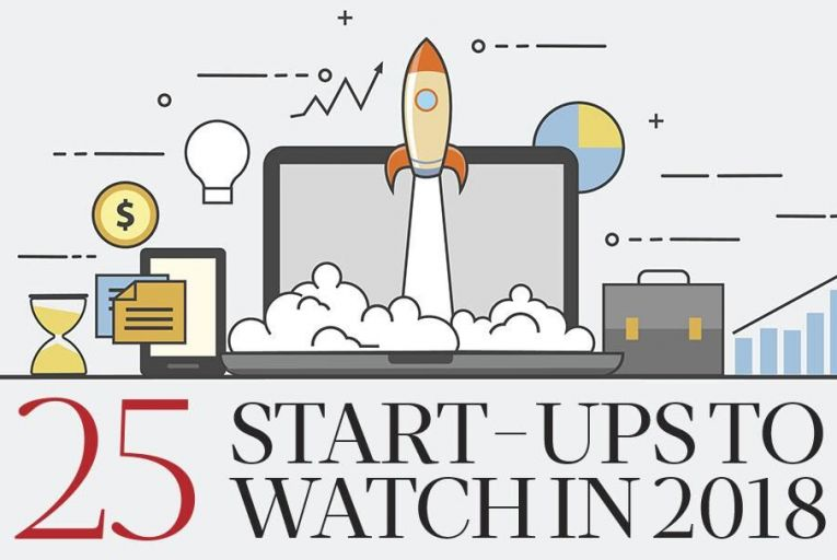 25 start-ups to watch in 2018