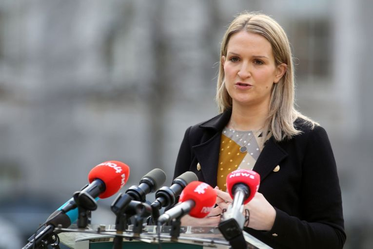 Helen McEntee, the Minister for Justice, will take six months' paid maternity leave from April 30.
