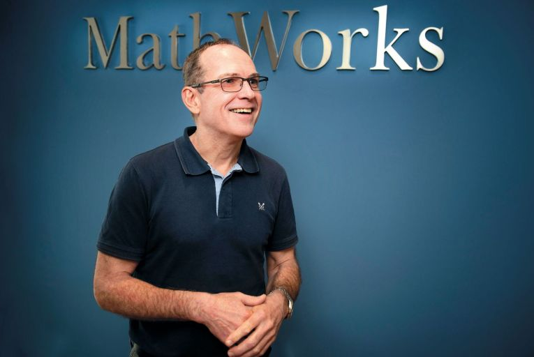Richard Haxby, country manager, MathWorks: 'There are no typical days.' Picture: Michael Dillon
