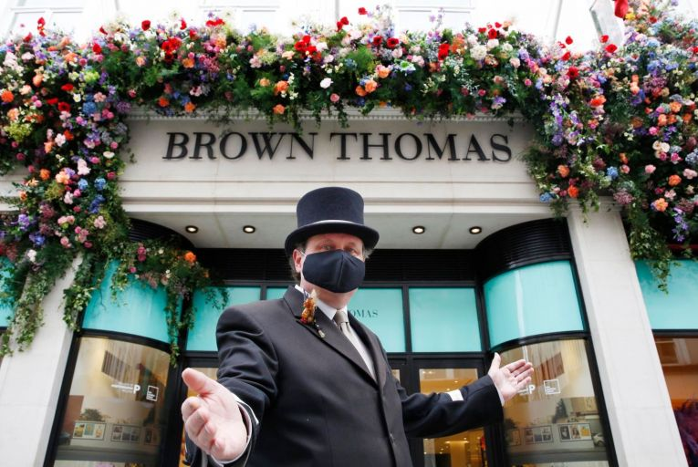 Unnamed buyer last month prompted Selfridges group to consider surprise sale of business which owns Brown Thomas and Arnotts in Ireland. Picture: Leon Farrell/Photocall Ireland