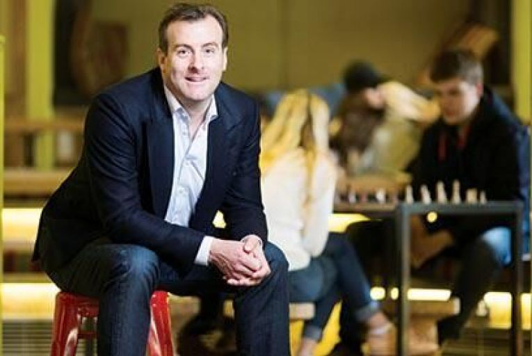 Feargal Mooney, chief executive, Hostelworld Picture: David Parry