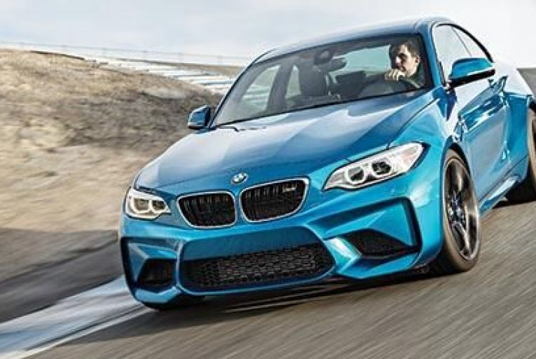 The new BMW M2 is a ball of fun no matter how fast you're travelling, it's much easier to use on narrow roads and it's just so agile