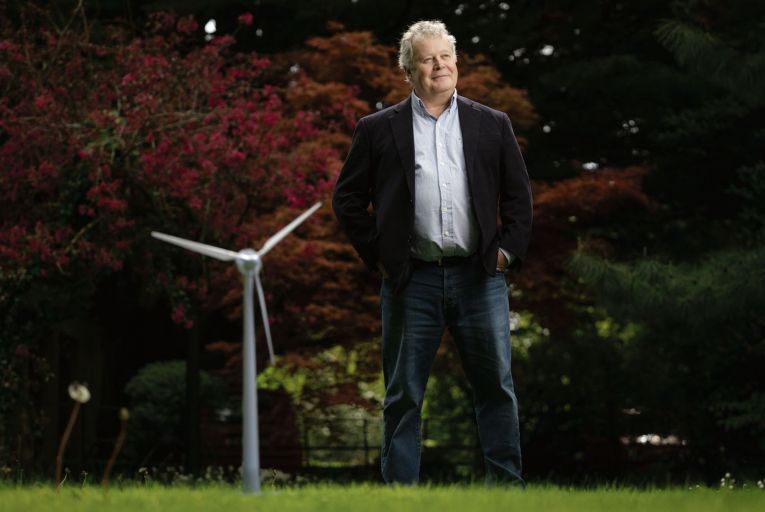 Simon De Pietro, chief executive of DP Energy, is also co-president of Ocean Energy Europe, a position he has held for a number of years. Picture: Cathal Noonan