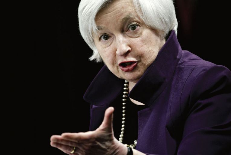 Janet Yellen: US Treasury Secretary is seeking 'a level playing field' for global corporate taxation Pic: Andrew Harrer/Bloomberg
