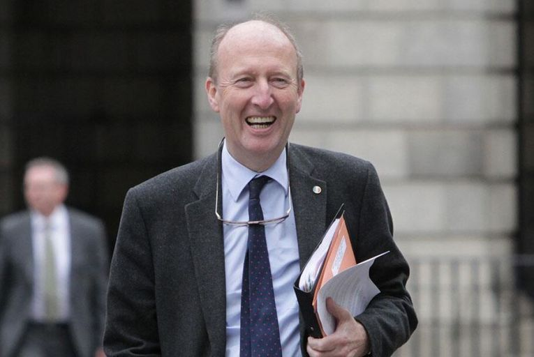 """Minister for Sport Shane Ross: """"Research shows that physical exercise is hugely beneficial to mental health."""" Picture: RollingNews.ie"""